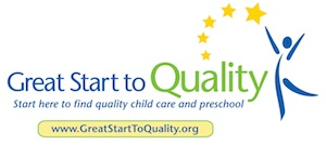 Great start to quality. Start here to find quality child care and preschool.