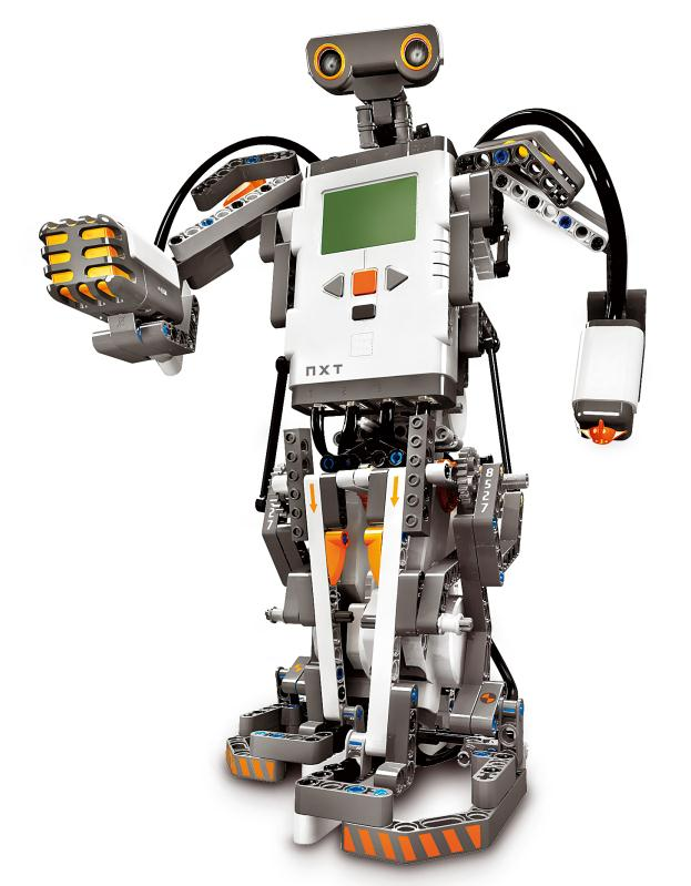 Lego NXT Robot. A programmable robot that can be programmed by students.