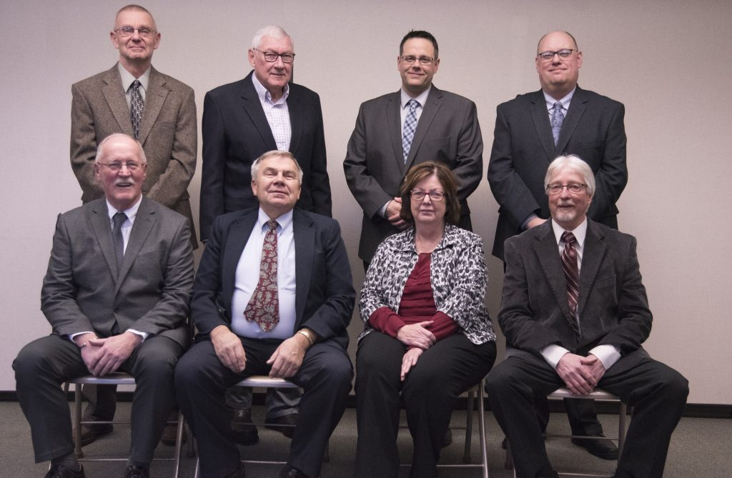Picture of the members of the Board of Education